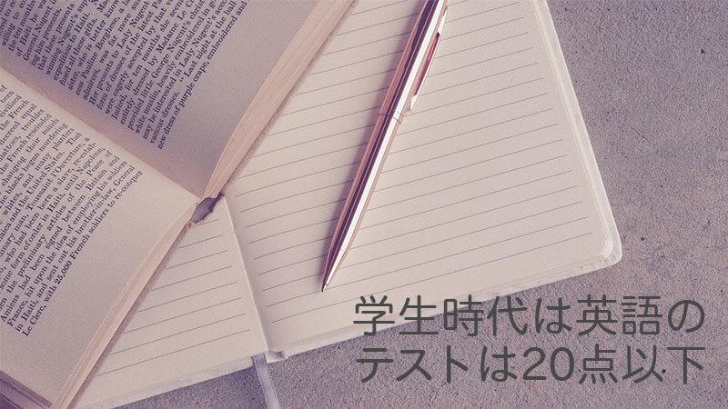 国際結婚したけど学生時代の英語のテストは20点以下の語学力