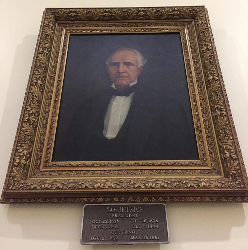 ヒューストンさんの肖像画