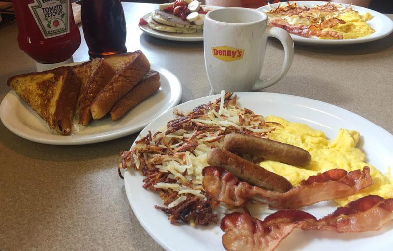 デニーズのアメリカンな朝食