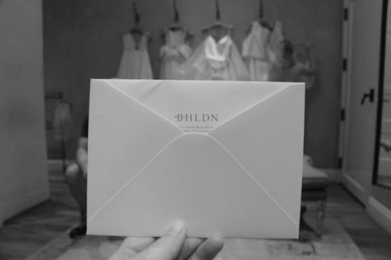 BHLDNのお気に入りリストが書かれた手紙